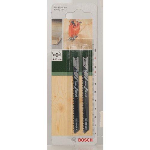 Bosch 2609256755 DIY Stichsägeblatt HCS U 111C HCS/U 111C/74 mm/3
