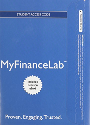 NEW MyFinanceLab with Pearson eText -- Access Card -- for Foundations of Finance (Myfinancelab compare prices)