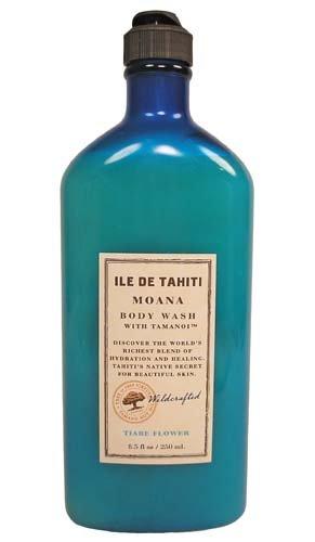 Bath & Body Works Ile De Tahiti Moana Tiare Flower Body Wash with Tamanoi 8.5 oz