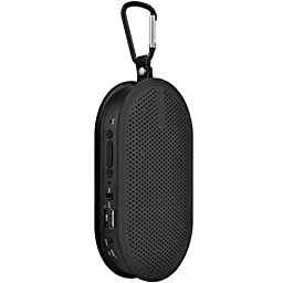 Black Wireless Soundbox Audio Loudspeaker Bluetooth 2.1 + EDR Stereo Speaker Hands-free with Mic TF Card U Disk USB Flash Drive Play