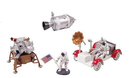 InAir E-Z Build Model Kit - Apollo Lunar Module with Lunar Rover (Apollo 11 Model compare prices)