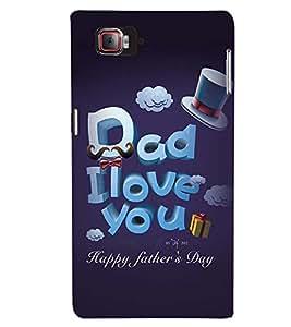 Printvisa Fathers Day Quote Back Case Cover for Lenovo Vibe Z2 Pro K920