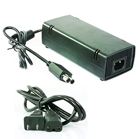 AC Adapter Power Supply For Microsoft XBOX 360 SLIM