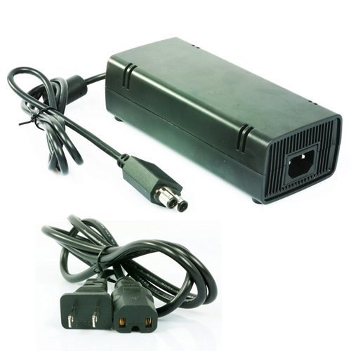 AC Adapter Power Supply For Microsoft XBOX 360 