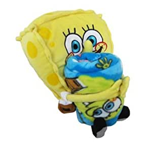 Spongebob Squarepants Throw And Pillow Set : Amazon.com: Fleece Throw Blanket and Stuffed Character Plush Pillow - SpongeBob: Toys & Games