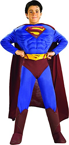 Toddler (Size 2-4T, 1-2 Yrs) NEW Superman Returns Deluxe Muscle Chest