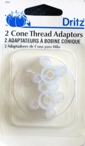 Dritz: Pack of 2 Cone Thread Adaptors
