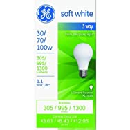 GE Lighting 97493 30/100 3-Way Bulb