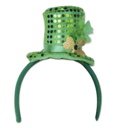 Beistle 30778 Leprechaun Hat Headband - 1