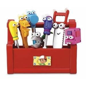 Amazon.com: Fisher-Price Handy Manny's Talkin' Tool Box: Toys & Games