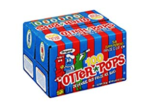 Otter Pops 1oz Assorted Freezer Bars 100 Count