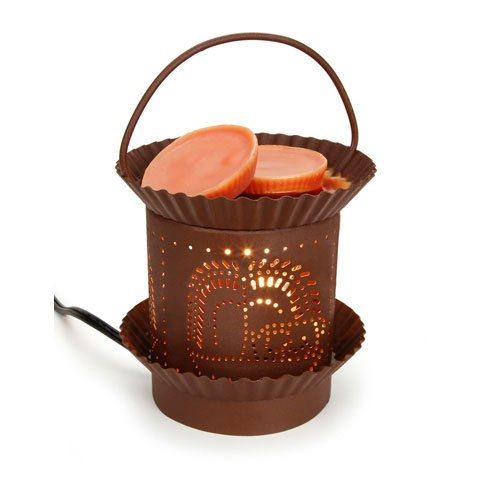 Bulk Buy: Darice Diy Crafts Candle Lamp Candle Warmer Electric Rusty Tin (6-Pack) 6611-20
