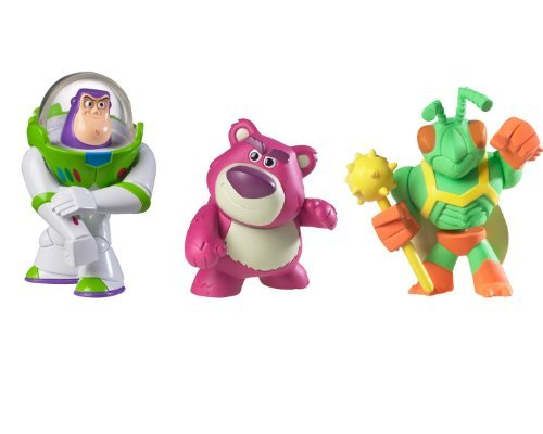 Toy Story Lotso, Buzz and Twitch Figure 3-Pack