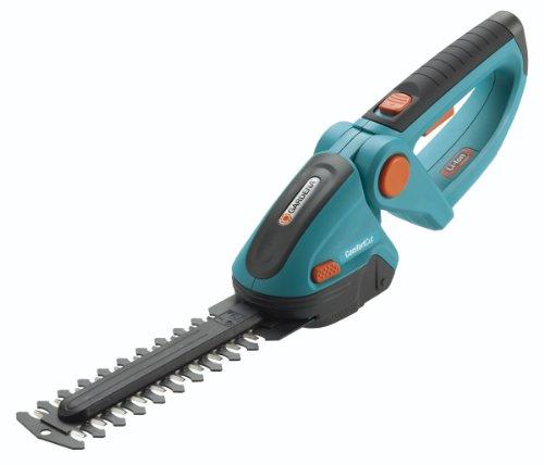 Gardena 8895-U 7-Inch Cordless Lithium Ion Shrub Shears, Comfort Cut