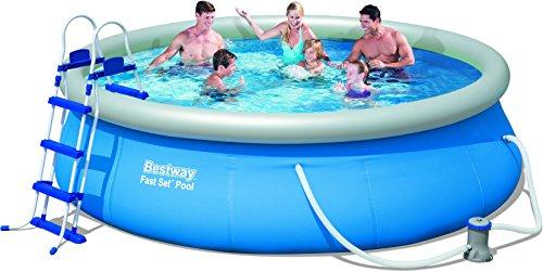 Bestway 57277 fast set piscina rotonda da giardino da 366 - Piscina bestway opinioni ...