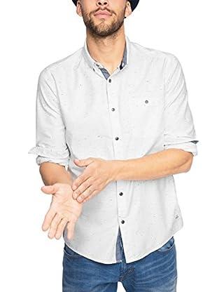 edc by ESPRIT Camisa Hombre (Blanco)