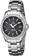 Omega Womens 231.10.30.20.06.001 Aqua Terra Grey Dial Watch