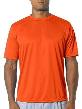 N3234 A4 Marathon Tee - Athletic Orange - Small