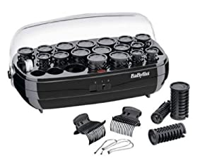 Essentials by BaByliss Lightweight Heated Hair Rollers With Heated Storage Case