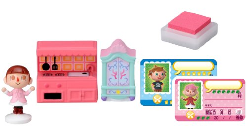 Takaratomy Animal Crossing New Leaf Girl and The Furniture Figure Stamp Set - 1