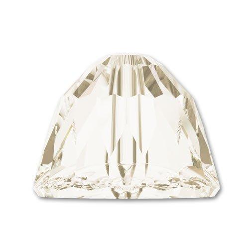 Small Dome Swarovski 5542 mm. 8 Crystal Silver Shade x1