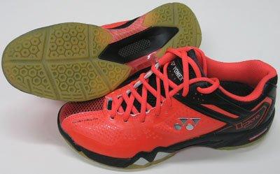 Yonex Men's Power Cushion SHB-02 LTD Limited Edition Badminton Shoe-Bright Red by Yonex