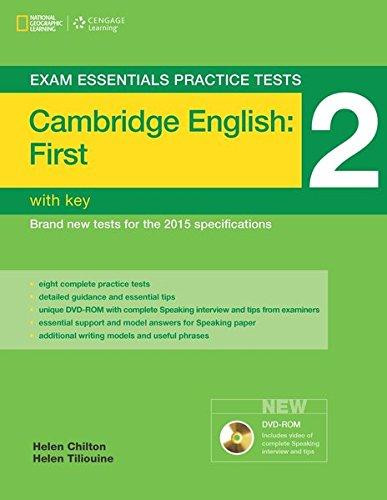 Exam essentials practice tests: fist FCE. With key. Per le Scuole superiori: 2