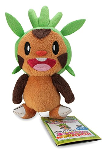 """Doll Pokemon Collection X And Y Plush Doll - 5"""" Chespin / Harimaron -48599 front-764137"""