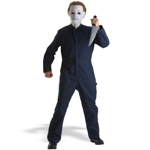 Michael Myers Jumpsuit Boys Costume, Medium (7-10)