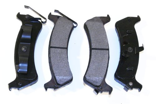 Prime Choice Auto Parts SMK667 New Rear Semi Metallic Brake Pad Set