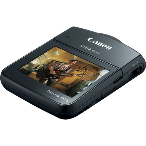 Today Sale Canon VIXIA Mini Compact Personal Camcorder (Black)  Best Offer