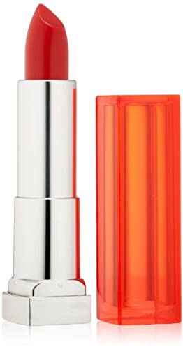 Maybelline New York Color Sensational Vivids Lipcolor, Neon Red, 0.15 Ounce