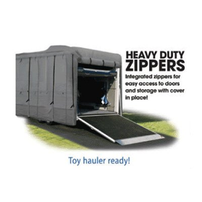 Toy Hauler Trailer Cover 5th Wheel Toy Hauler Advanced 3-Layer Protection (29' to 30')
