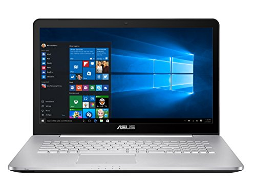 Asus-N752VX-GC146T-439-cm-173-Zoll-Mattes-Notebook-Intel-Core-i7-6700HQ-8GB-RAMNVIDIA-GTX-950M-4GB-DVD-Win-10-Home-silbergrau