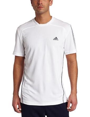 (抢了)阿迪达斯adidas Men's Response Short-Sleeve Tee 透气运动T恤 白$20.75