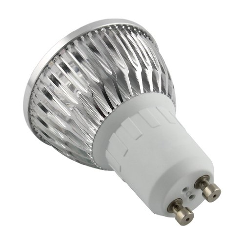 Gbb 4W Dimmable Gu10 Led Bulb - 6500K Cool White Led Spotlight - 50W Equivalent- 91% Energy Saving! Gu10 Base - 400 Lumen 45 Degree Beam Angle For Home, Recessed, Accent, Track Lighting