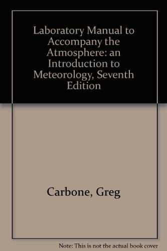 The Atmosphere Laboratory Manual