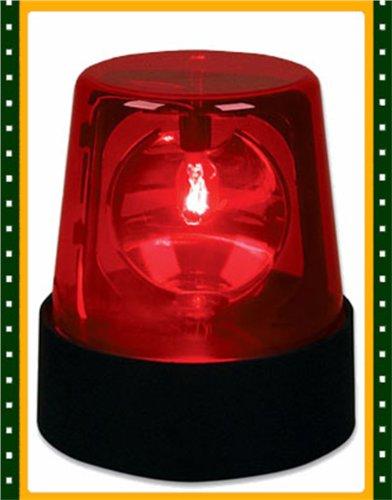 45quot rotating red flashing beacon party lamp dj strobe for Lamp light blinking on jvc