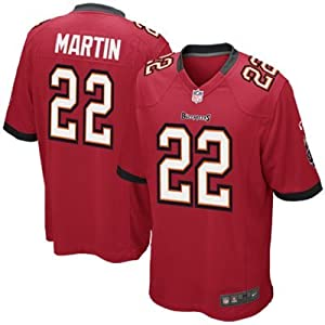 Doug Martin Tampa Bay Buccaneers Home Jersey: Size - Large by SGDJ