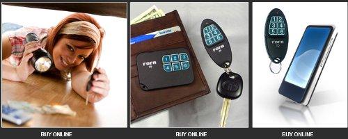 2-Way RF FOFA® Find One Find All® Key Finder, Wallet Finder,mobile Phone Finder, Remote Control Locator. Set of 2