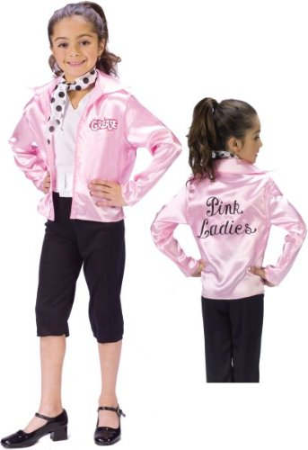 Grease Pink Ladies Child Costume - Kid's Costumes