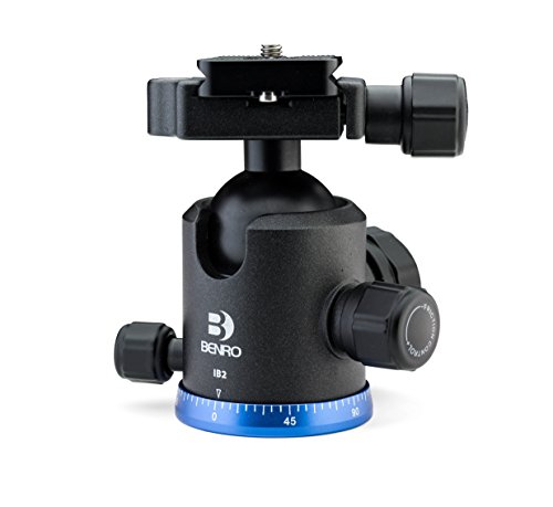 Benro Triple Action Ball Head w/ PU60 Quick Release Plate (IB1) (Ball Head Arca Swiss compare prices)