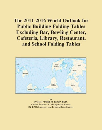 The 2011-2016 World Outlook for Public Building Folding Tables Excluding Bar, Bowling Center, Cafeteria, Library, Restaurant, and School Folding Tables