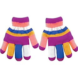 True Gear Childrens Insulated Gloves (Pink)