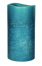 GKI/Bethlehem Lighting Encandra Pillar Candle, 3 by 6-Inch, Blue