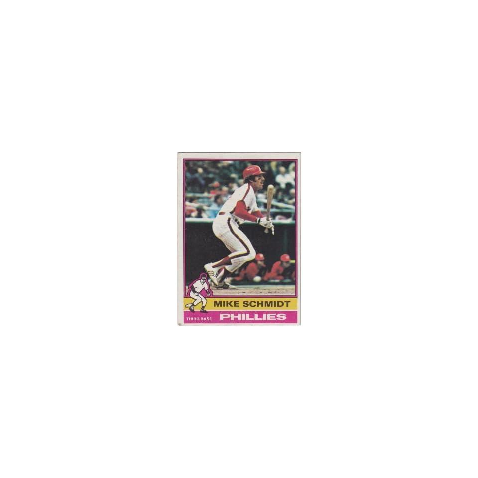 Mike Schmidt Philadelphia Phillies 1976 Topps #480