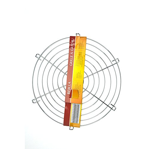 Round Chrome Cooling Rack Oven Wire Rack for Cooling Baking 12inch (Small Round Oven Rack compare prices)