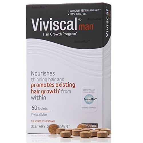 Viviscal Man 1 Hair Dietary Supplements Pills For