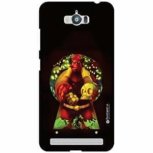 Asus Zenfone Max ZC550KL Back Cover - Silicon Man Designer Cases