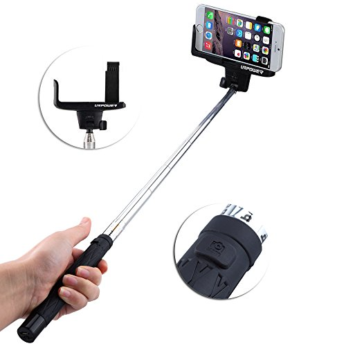 selfie stick urpower quicksnap pro 3 in 1 monopod extendable wireless bluetooth selfie stick. Black Bedroom Furniture Sets. Home Design Ideas